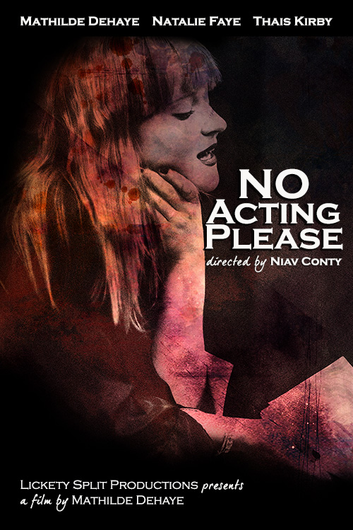 No Acting Please - Poster